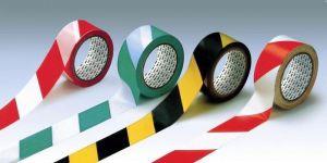 Băng keo PVC 48mm (dán nền 33m xanh lá, vàng đen, đỏ)
