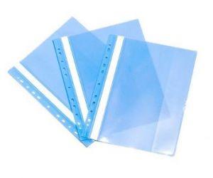 Bìa acco có lỗ nhựa FO PPFFA4 xanh