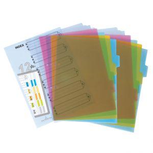 Bìa phân trang nhựa 12 tờ Plus 85 V02
