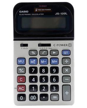 Máy tính Casio JS - 120 L - 12 số