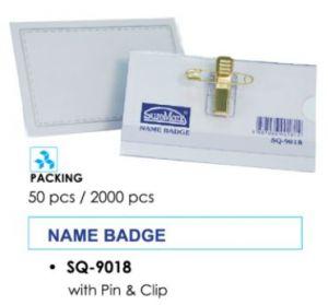 Miếng đeo bảng tên SQ9018 SureMark (bảng tên đại biểu nhựa)