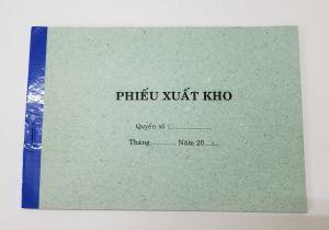 Phiếu xuất 1 liên (13x19 giấy tái sinh)