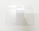 Bảng tên nhựa (cứng ngang không viền)