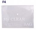 Bìa nút F4 VC trắng (xấp=12c)