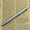 Bút bi bấm vỏ inox BP037 ngòi bấm