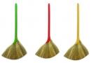 Chổi (chổi cỏ dày đặc biệt) (cán nhựa - cán cây)