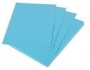 Giấy màu 160 A3 (Bìa màu A3 khổ chuẩn xanh dương)