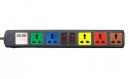 Ổ cắm điện Lioa 5 ổ dây 3m, 2 ổ USB (6D32NUSB)