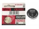 Pin (đồng tiền Maxell CR2032, vĩ 5 viên)