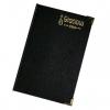 Sổ bìa da đen dày CK9