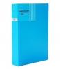 Sổ namecard A5 Plus 240 (82V271) bìa nhựa xanh dương