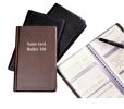 Sổ namecard bìa da đen YaPeng 160