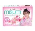 Xà phòng tắm dưỡng trắng da Misumi hương hoa Sakura 90g (HỒNG)