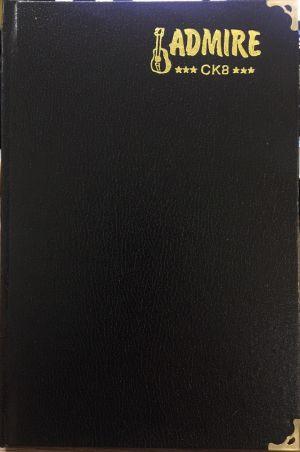 Sổ bìa da CK8 (loại dày)
