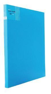Sổ namecard A4 plus 400 (82V290) bìa nhựa xanh dương