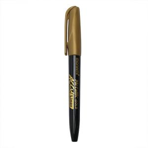Viết lông Accu Line (bút nhũ vàng)